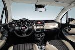 Fiat 500X Crossover Kompakt SUV Geländewagen Offroad Allrad 4x4 MultiAir Turbo Vierzylinder Turbodiesel Drive Mood Selector Uconnect Smartphone App Beats Interieur Innenraum Cockpit