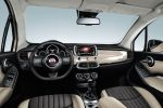 Fiat 500X Opening Edition Crossover Kompakt SUV Geländewagen Offroad MultiAir Turbo Vierzylinder Turbodiesel Uconnect Smartphone App Beats Interieur Innenraum Cockpit