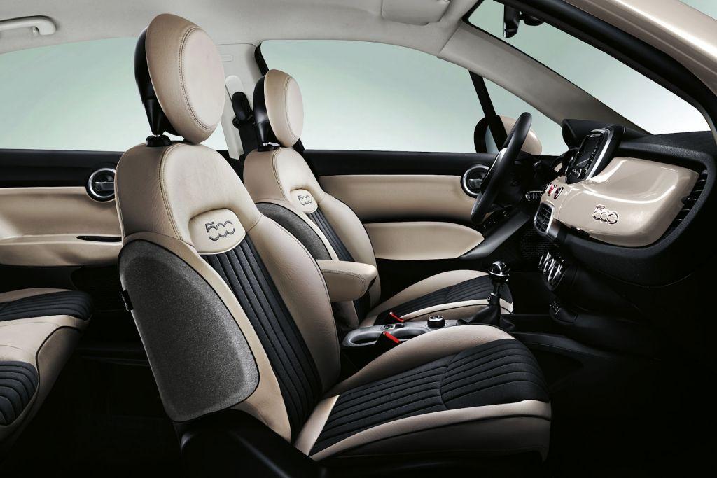Fiat 500x opening edition feine ausstattung mit dickem for Interieur fiat 500x