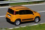 Fiat Panda Trekking Offroad Look SUV Traction+ 0.9 TwinAir Turbo Diesel 1.3 Multijet Erdgas Natural Power Heck Seite Ansicht
