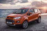 Ford EcoSport Kompakt Mini SUV Fiesta SYNC AppLink Smartphone 1.0 EcoBoost Dreizylinder Turbo Diesel 1.0 EcoBoost 1.5 TDCi Spotify Kaliki Glympse Aha Front Seite