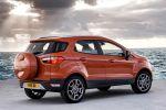 Ford EcoSport Kompakt Mini SUV Fiesta SYNC AppLink Smartphone 1.0 EcoBoost Dreizylinder Turbo Diesel 1.0 EcoBoost 1.5 TDCi Spotify Kaliki Glympse Aha Heck Seite