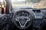 Ford EcoSport Kompakt Mini SUV Fiesta SYNC AppLink Smartphone 1.0 EcoBoost Dreizylinder Turbo Diesel 1.0 EcoBoost 1.5 TDCi Spotify Kaliki Glympse Aha Interieur Innenraum Cockpit
