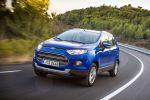 Ford EcoSport 2015 Titanium Kompakt Mini SUV SYNC AppLink Smartphone 1.0 EcoBoost Dreizylinder Turbo Diesel EcoBoost 1.5 TDCi Front Seite