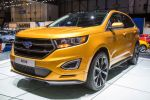 Ford Edge S Concept 2015 Sportversion Premium SUV Crossover 2.0 TDCi Vierzylinder Diesel PowerShift Torque Vectoring Control Curve Control Front