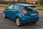 Ford Fiesta 2015 Trend Econetic Titanium SYNC Edition 1.0 EcoBoost Dreizylinder 1.5 TDCi Diesel AppLink Smartphone Heck Seite