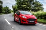 ford fiesta sport red edition test - fahrbericht probefahrt 1.0 ecoboost dreizylinder sportler performance effizienz hot hatch rennsemmel sync applink internet mykey active city stop review front