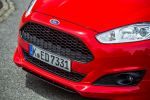 ford fiesta sport red edition test - fahrbericht probefahrt 1.0 ecoboost dreizylinder sportler performance effizienz hot hatch rennsemmel sync applink internet mykey active city stop review frontspoiler