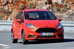 Ford Fiesta ST Red 1.0 Dreizylinder Performance Effizienz Rennsemmel Front