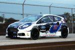 Ford Fiesta ST Rallycross X-Games Global Rallycross Championships GRC Rennwagen 2.0 Garrett Turbo Allrad Extremsport Front Seite