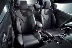 Ford Fiesta ST200 1.6 Vierzylinder Turbo Leistungssteigerung Tuning Performance Torque Vectoring Control Fahrwerk Recaro Sportsitze Rennsemmel Storm Grey Grau Interieur Innenraum Cockpit