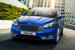 Ford Focus Facelift 2014 EcoBoost Turbo Benziner ECOnetic Ti-VCT TDCi Diesel Dreizylinder Ford SNYC 2 PowerShift MyKey Einparkassistent Cross Traffic Alert Pull out Assist Active City Stop Notbremsassistent Pre Colission ACC Adaptive Cruise Control FA Forward Alert Distance Alert sparsam Front