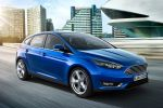 Ford Focus Facelift 2014 EcoBoost Turbo Benziner ECOnetic Ti-VCT TDCi Diesel Dreizylinder Ford SNYC 2 PowerShift MyKey Einparkassistent Cross Traffic Alert Pull out Assist Active City Stop Notbremsassistent Pre Colission ACC Adaptive Cruise Control FA Forward Alert Distance Alert sparsam Front Seite