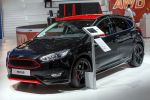 Ford Focus Sport Red Black 2016 EcoBoost Turbo Benziner TDCi Diesel Race Red Rot Iridium Schwarz Bodykit Aerodynamikkit Stylingkit Front Seite