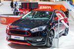 Ford Focus Sport Red Black 2016 EcoBoost Turbo Benziner TDCi Diesel Race Red Rot Iridium Schwarz Bodykit Aerodynamikkit Stylingkit Front