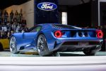 Ford GT 2016 Supersportwagen Performance Vehicle 3.5 EcoBoost V6 Biturbo Doppelturbo Twinturbo Carbon Heck Seite