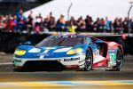 Ford GT LMGTE Pro Le Mans 2016 Race Car Rennwagen 24 Stunden Rennen 24 heures 24h Langstreckenrennen Supersportwagen Performance Vehicle 3.5 EcoBoost V6 Biturbo Doppelturbo Twinturbo Carbon Ford Chip Ganassi Racing Front Seite