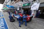 Ford GT LMGTE Pro Le Mans 2016 Race Car Rennwagen 24 Stunden Rennen 24 heures 24h Langstreckenrennen Supersportwagen Performance Vehicle 3.5 EcoBoost V6 Biturbo Doppelturbo Twinturbo Carbon Ford Chip Ganassi Racing Boxenstopp Heck