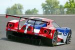 Ford GT LMGTE Pro Le Mans 2016 Race Car Rennwagen 24 Stunden Rennen 24 heures 24h Langstreckenrennen Supersportwagen Performance Vehicle 3.5 EcoBoost V6 Biturbo Doppelturbo Twinturbo Carbon Chip Ganassi Racing with Felix Sabates CGRFS Heck