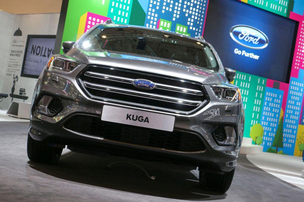 Ford Kuga 2017 Fette Neuheiten Flut F 252 R Den Erfolgs Suv