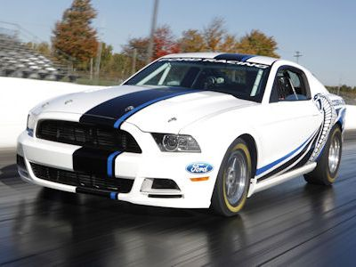Auto Racing Fabrick on Ford Mustang Cobra Jet Concept Dragrace Ford Racing 5 0 V8 Turbo
