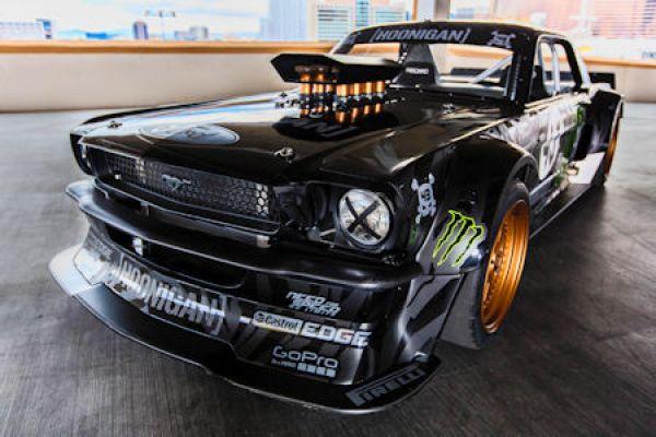 Ford Mustang Hoonicorn Rtr Ken Blocks 857 Ps Mustang