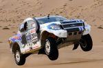 Ford Ranger Dakar Rally Pickup Allrad 4x4 Offroad 5.0 V8 Front Seite Sprung Jump