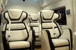 Ford Transit Skyliner Concept Transporter Luxus Reisevan Großraumkastenwagen Nutzfahrzeug Galpin Auto Sports Theater Business Reception Travel Tablet Focal Utopia 7.2 Surround Sound V6 EcoBoost Biturbo Innenraum Interieur Sitze