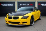 Fostla BMW M6 Cabrio E64 5.0 V10 Folierung PP-Performance Breyton Race GTR Felge Eisenmann Front