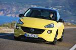opel adam slam test - 1.4 ecoflex intellilink smartphone app sport twister black yellow lifestyle kleinwagen kleinstwagen front ansicht