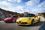 Alfa Romeo 4C Spider Cabrio 1750 Mittelmotor Sportwagen Vierzylinder Turbo TCT Zubehör Carbon