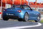 G-Power BMW Z4 3.0i Roadster E85 Heck Ansicht SK Plus Kompressor ASA Silverstone Diamond Deeptone