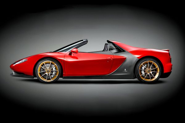 Ferrari Sergio Pininfarina 458 Italia Spider Cabrio Roadster 4.5 V8 Seite
