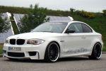 TVW Car Design BMW 1er M Coupe 3.0 Reihensechszylinder TwinPower Turbo Biturbo Front Seite Ansicht