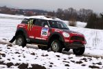 X-raid Mini Countryman All4 Racing Front Seite Ansicht Dakar Argentinien Chile Crossover Allrad Guerlain Chicherit Michel Perin