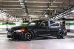 G-Power BMW M3 Limousine F80 Sportwagen Sportler 3.0 TwinPower Turbo Reihensechszylinder Tuning Leistungssteigerung Bi-Tronik 2 V3 Titan Abgasanlage Hurricane RR Schmiederadsatz Front Seite