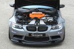 G-Power BMW M3 RS E9X E92 Coupe SK III Kompressorsystem ASA T1-724 Tuning Leistungssteigerung V8 Motor CArbon Aerodynamikkit Bodykit Hurricane RR Schmiederadsatz Felgen Front Motor Triebwerk Aggregat