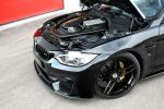 G-Power BMW M4 Cabrio F83 3.0 TwinPower Turbo Reihensechszylinder Bi-Tronik 2 V1 Kennfeldänderung Leistungssteigerung Tuning Vmax GM4-RS G4M Gewindefahrwerk Hurricane RR Schmiederad Felge