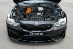 G-Power BMW M4 Cabrio F83 3.0 TwinPower Turbo Reihensechszylinder Bi-Tronik 2 V1 Kennfeldänderung Leistungssteigerung Tuning Vmax GM4-RS G4M Gewindefahrwerk Motor Triebwerk Aggregat
