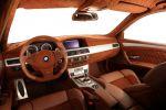 G-Power Hurricane RS BMW M5 Touring Kombi V10 Innenraum Interieur Cockpit Leder Alcantara
