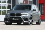 G-Power BMW X5 M F85 Tuning Leistungssteigerung 4.4 V8 Biturbo Twinturbo Power SUV Bi-Tronik 2 V3 Kennfeldänderung Titan Abgasanlage GX6M Gewindefahrwerk Hurricane RR Schmiederäder Felgen Front