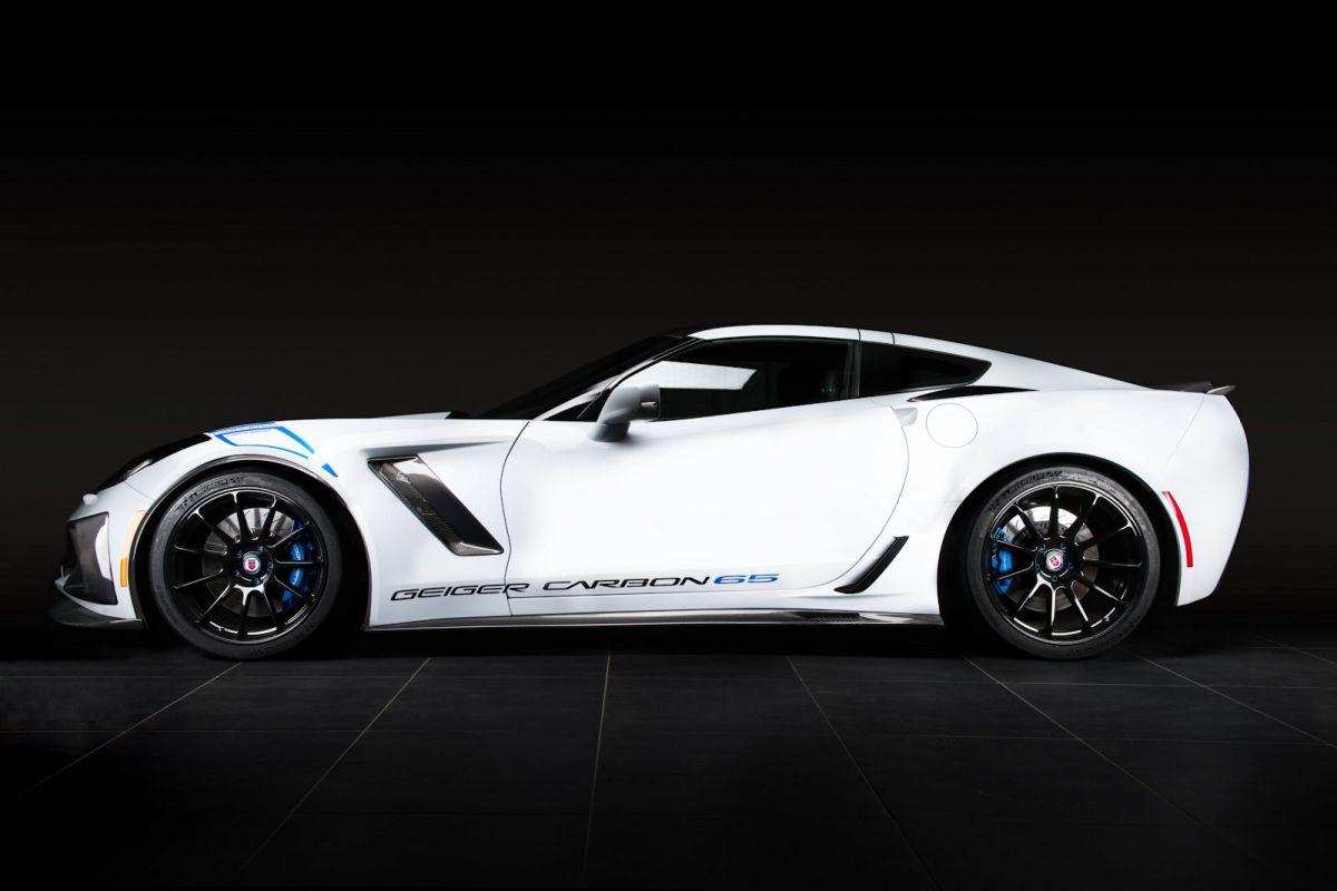 Corvette Z06 Geiger Carbon 65 Edition Das 770 Ps Monster Speed Heads