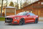 GeigerCars Ford Mustang GT 820 Fastback Muscle Car Pony Car Sportwagen 5.0 V8 Kompressor Leistungssteigerung Tuning Carbon Bodykit Ducktail Auspuff Abgasanlage Klappensteuerung Felgen Front Seite
