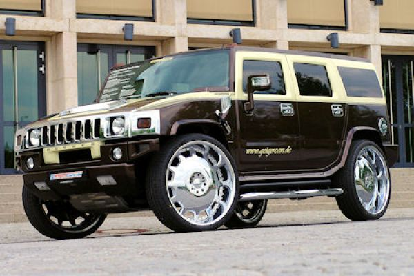 geigercars hummer h2 latte macciatto der befleckte milchbubi speed heads. Black Bedroom Furniture Sets. Home Design Ideas