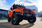 GeigerCars Jeep Wrangler Sport Kompressor 3.6 Pentastar V6 Offroad Geländewagen Tuning Leistungssteigerung Höherlegung Front Seite