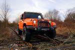 GeigerCars Jeep Wrangler Sport Kompressor 3.6 Pentastar V6 Offroad Geländewagen Tuning Leistungssteigerung Höherlegung Front