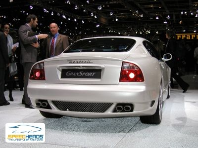 2004 Maserati Gransport. Genf 2004: Maserati GranSport