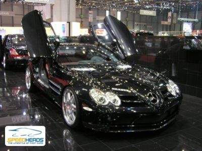 mercedes slr brabus. Genf 2005: Brabus McLaren SLR