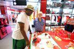 Ferrari Besuch Maranello George Lucas Samuel L. Jackson