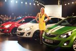 Germanys Next Topmodell Lena Gercke Opel Corsa Color Line Edition Elegance Stripes Benzin 1.3 1.7 CDTI Diesel 1.2 1.4 1.6 Turbo